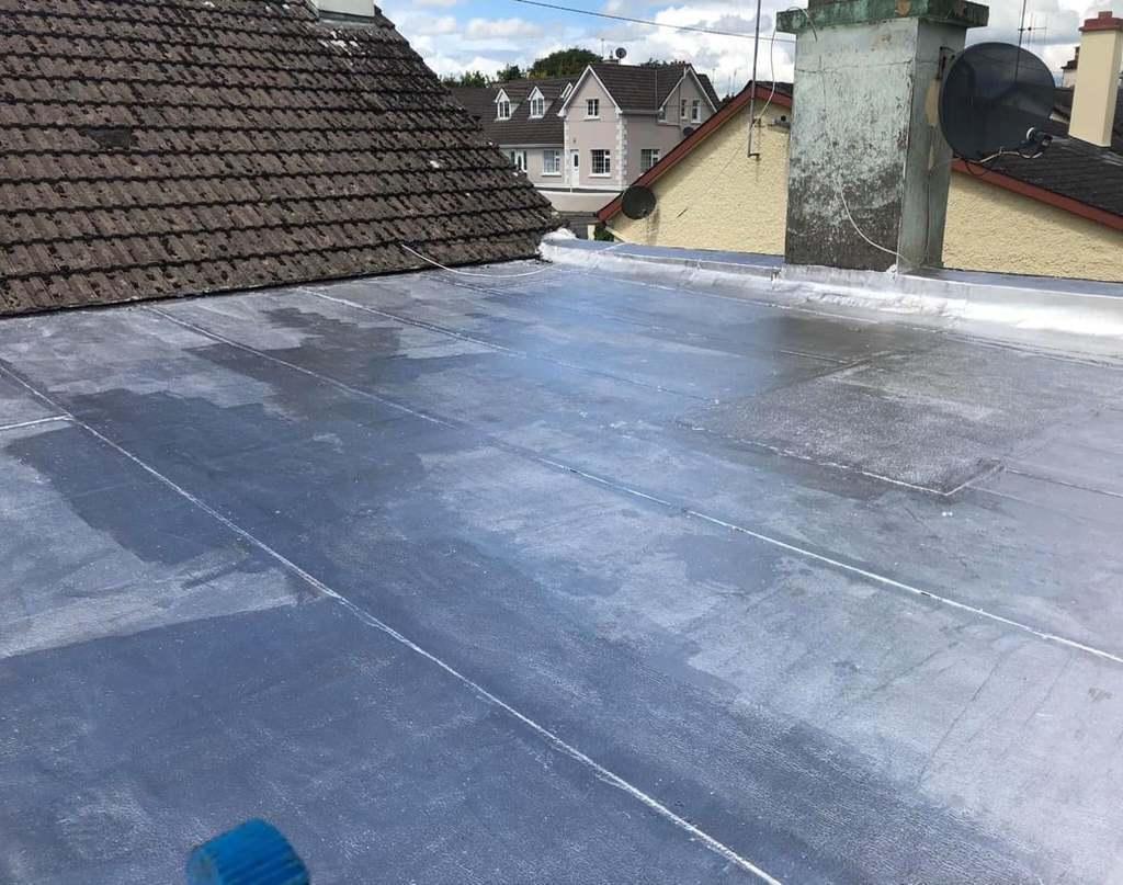 Fixed-Leak-Free fibreglass roof