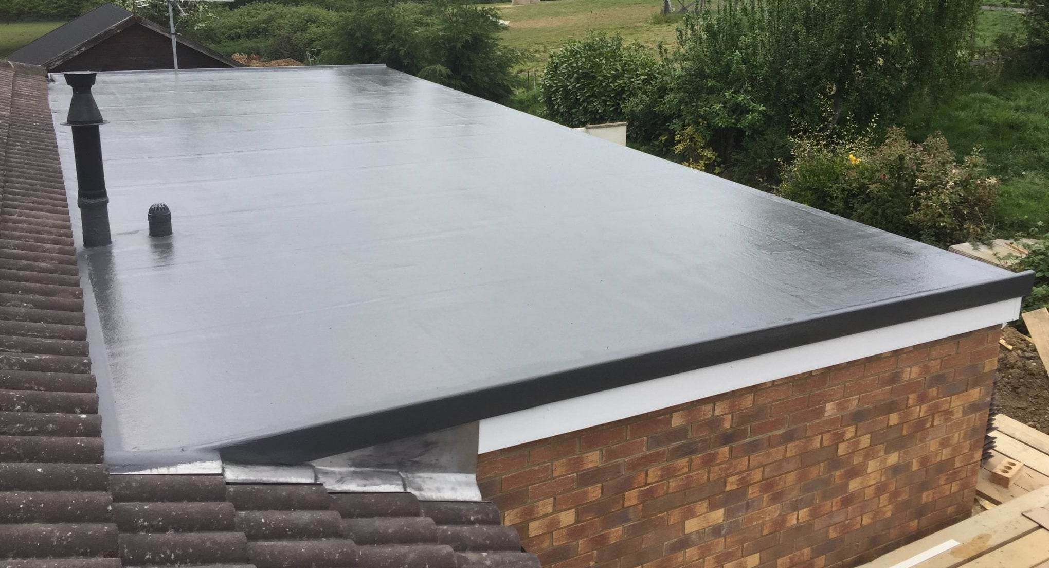 Back Kitchen Flat Roof Repair